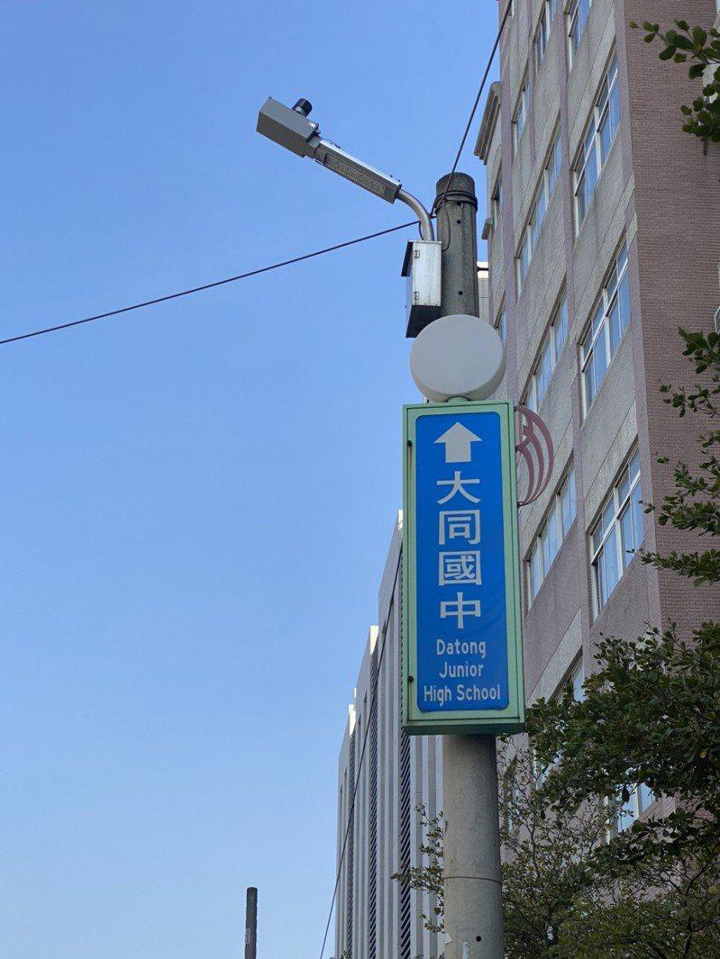 員林市本月汰換完1萬2千多盞省電智能型LED路燈,預計可以節省電費五成。記者林宛諭/攝影