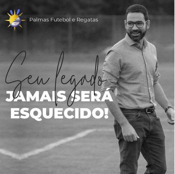 帕爾馬斯足球俱樂部主席梅拉(擷取自Instagram)