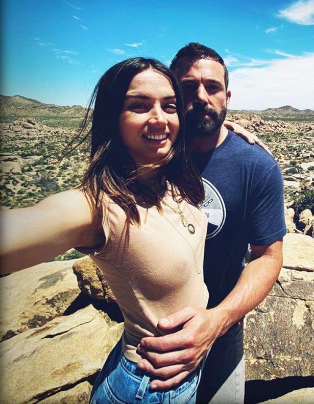 班艾佛列克與安娜狄阿瑪斯去年還打得火熱,今年初已分手。圖/摘自Instagram