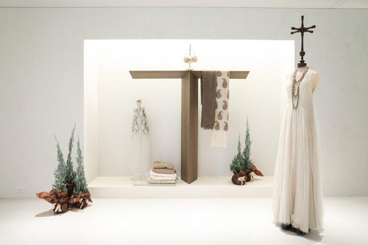 JAMEI CHEN大安概念店裝清爽自在、自成一片天地。記者吳致碩╱攝影