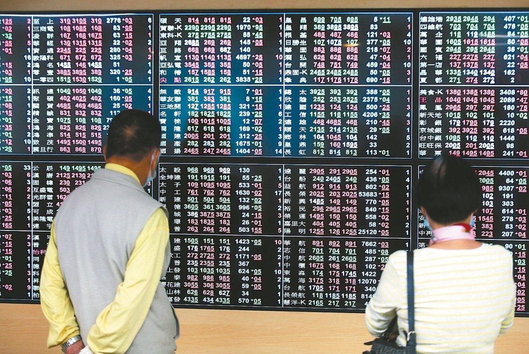 與股市相關四大指標全飆新高,顯示市場資金動能強強滾。(本報系資料庫)