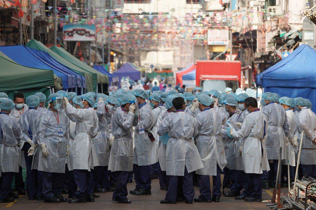 港府批准BioNTech疫苖可在香港緊急使用。(中新社)