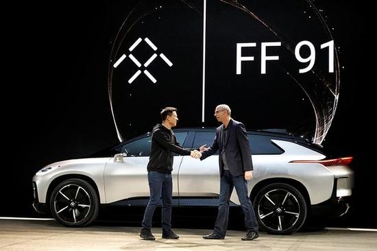 法拉第未來擬在大陸開設工廠生產部分電動汽車。(圖/取自新浪網)