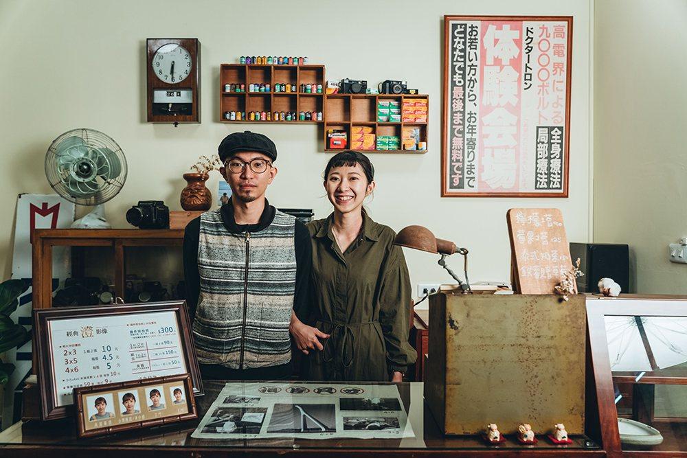 兩位店主澄和子慈各司其職,分別負責相館事務與甜點製作。 攝影/張晉瑞