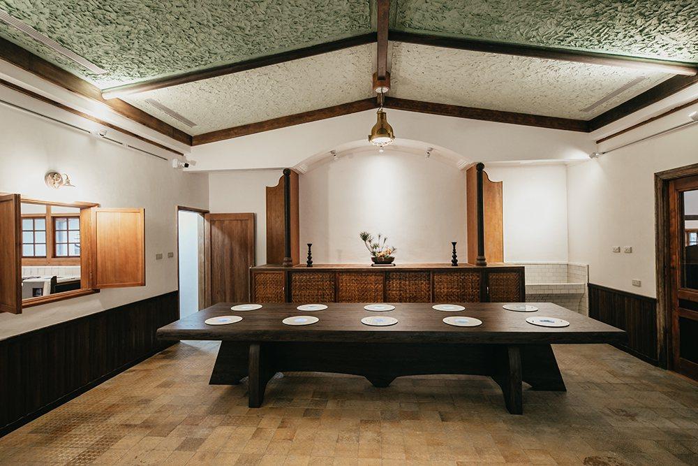 逍遙園請來日本京都的工匠施工,兼容日式傳統建築與西式洋房的風格特色。 攝影/蔡嘉...