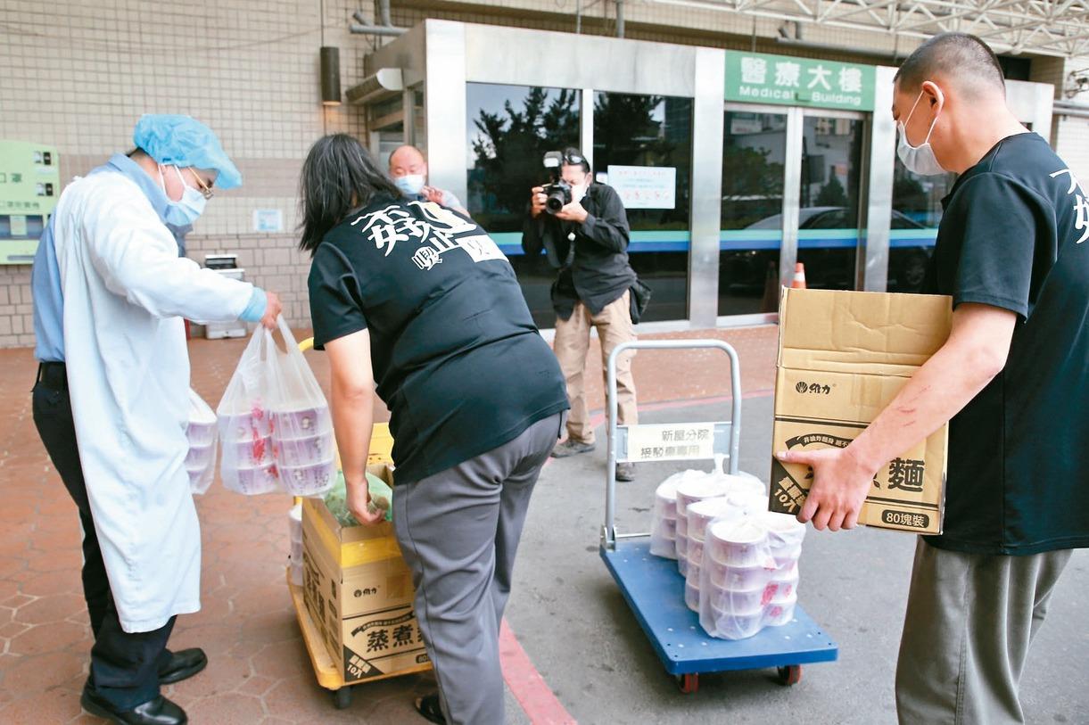 別再捐食物、物資進部桃 網友呼籲:真要幫忙可捐血