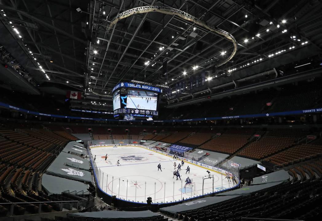 執行運動泡泡政策後,NHL更是創下復賽以來「零確診」的壯舉。 圖/法新社
