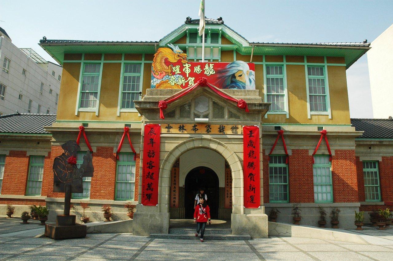 雲林古蹟四館的布袋戲館也是必遊的文化重地。 圖/蔡維斌 攝影