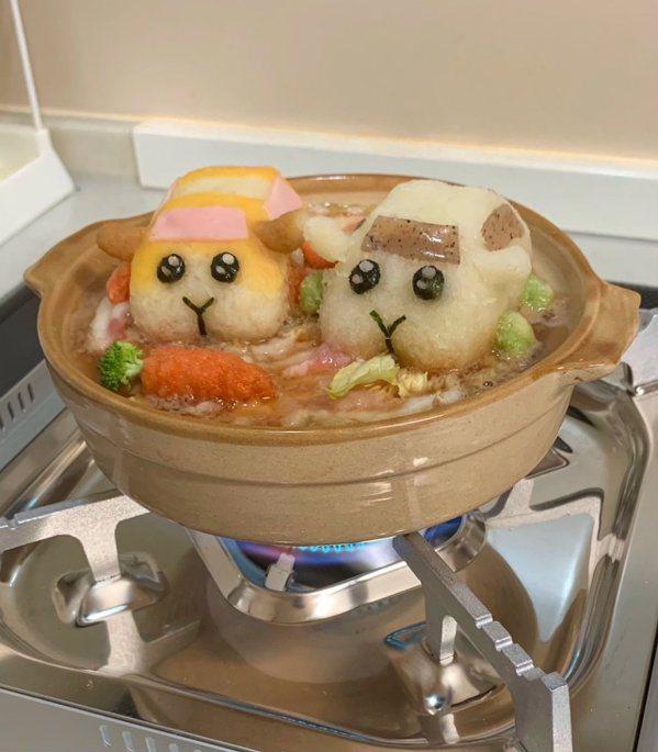 溫水煮青蛙鼠車車。 圖源:みそはるく
