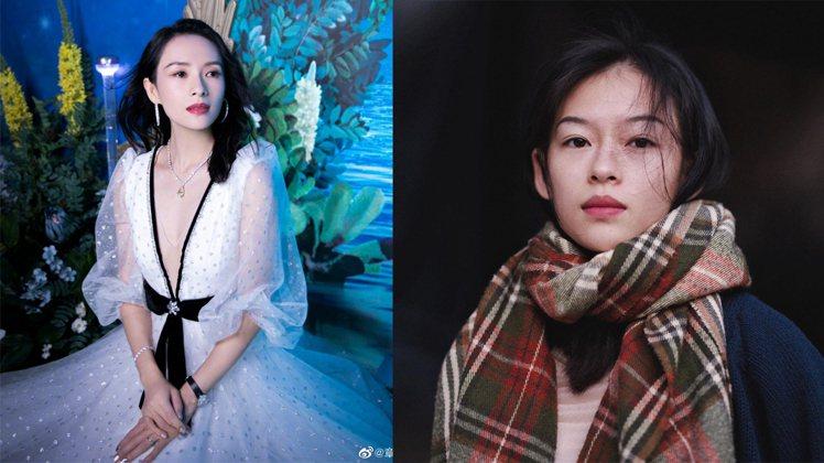 Nguyễn Minh Hà(右)被網友指撞臉大陸女星章子怡(左)。圖/擷自IG...