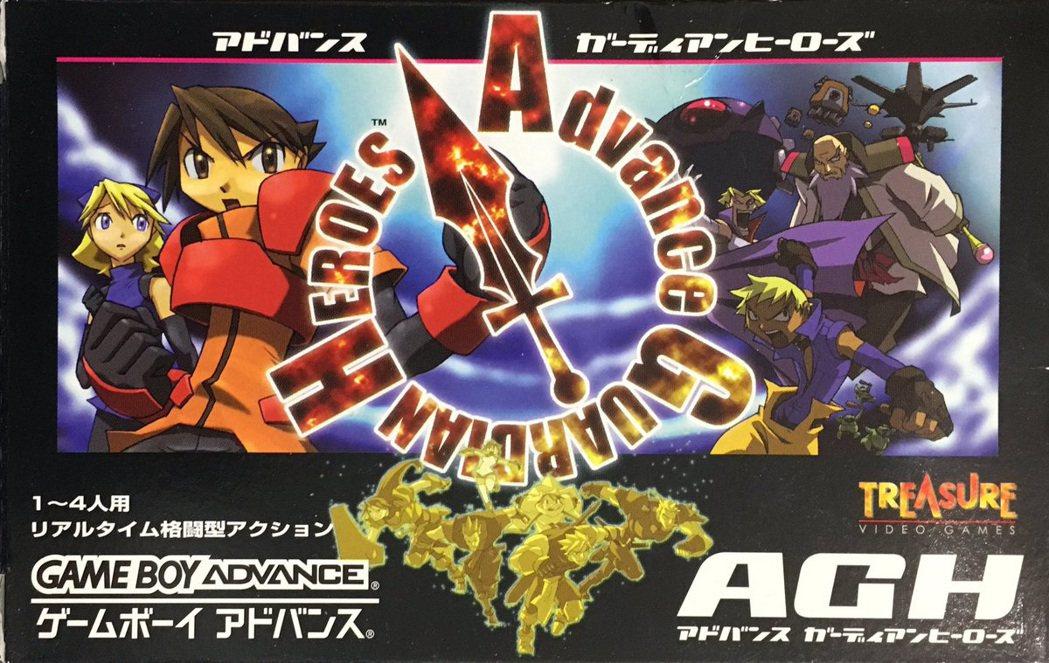 守護英雄A的卡帶彩盒封面圖。