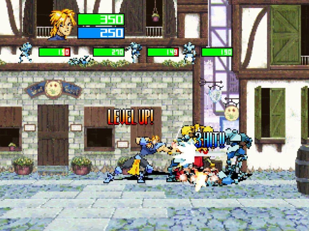 除了格鬥要素之外,遊戲也有RPG的要素在內,打倒敵人可以獲得經驗值提升等級,並且...