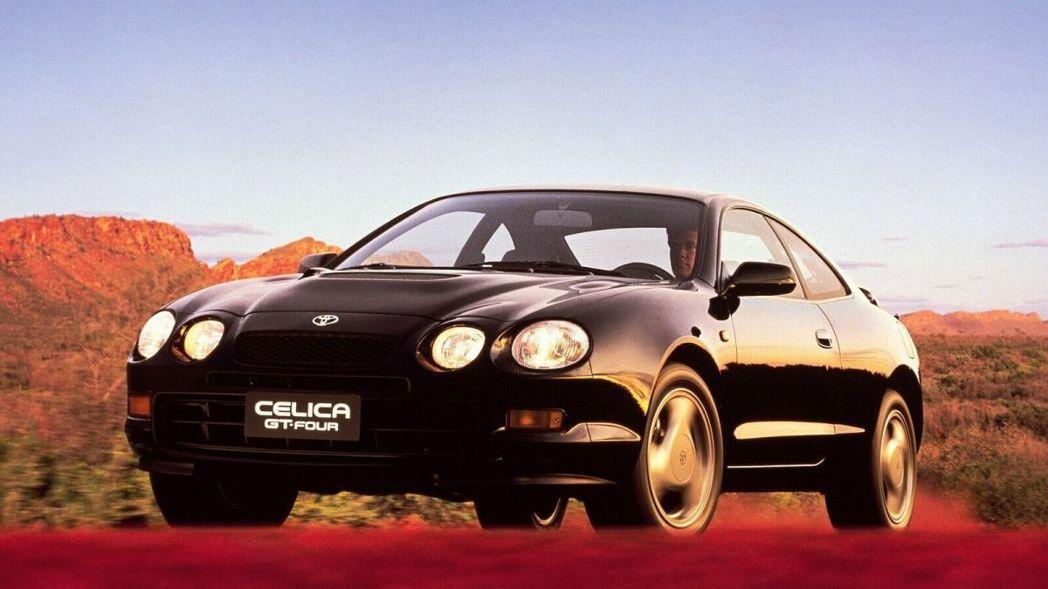 Toyota Celica GT-Four。 摘自Toyota