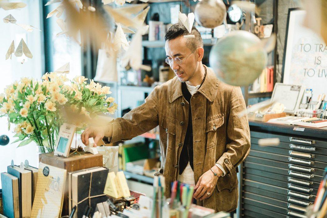 Marco期待透過禮拜文房具傳遞更多生活美感。Jimmy Yang/攝影