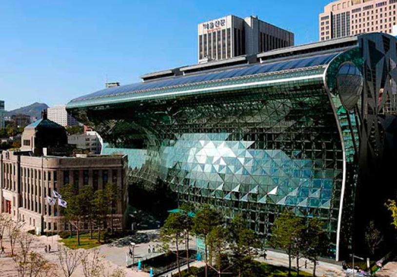 韓國首爾政府新辦公大樓使用LUFTRUM品牌空氣清淨機,此為該建築外圖。LUFT...