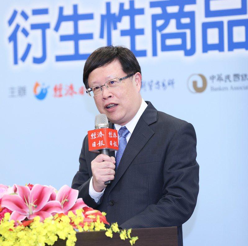 台灣期交所董事長吳自心。記者潘俊宏攝影/報系資料照