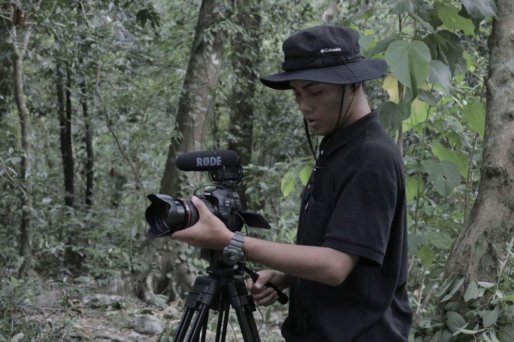 黃孝擎導演來自排灣族,期許能持續為原民文化付出心力。 義守大學/提供