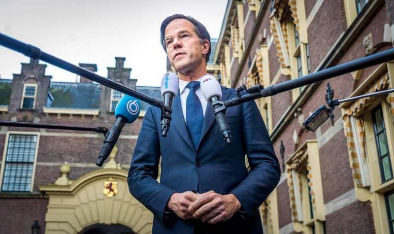 荷蘭總理呂特(Mark Rutte)。 法新社