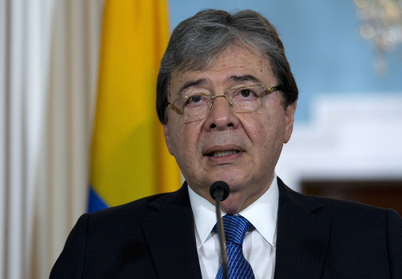 哥倫比亞國防部長楚希尤因2019冠狀病毒疾病(COVID-19)併發症過世。 美聯社