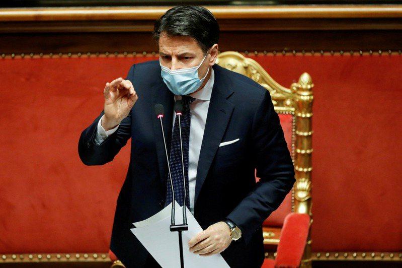 義大利總理孔蒂(Giuseppe Conte)今天向總統遞交辭呈,希望藉此獲得機會籌組新聯合政府,並且重新建立在國會的多數優勢。 路透