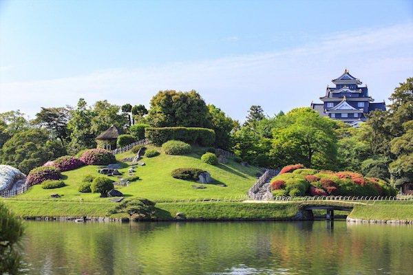 圖:《米其林日本綠色指南》3顆星評價的-後楽園