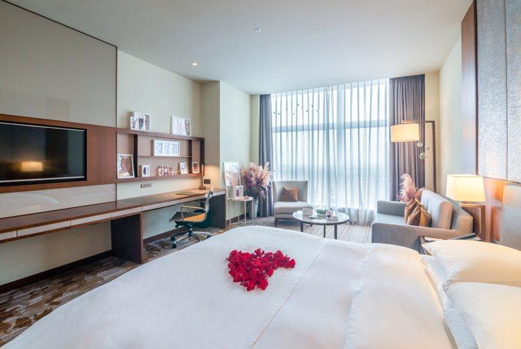 六福萬怡與一禮莊園合作推出「2021植感深呼吸住房專案」。圖/六福旅遊集團提供