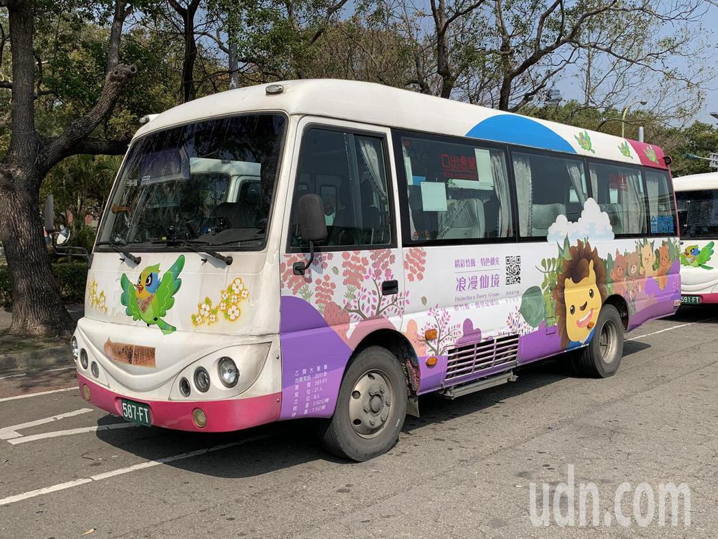 農曆春節連續假期,新竹縣政府鼓勵民眾搭公車出遊,自2月13日至16日,推出4條春...