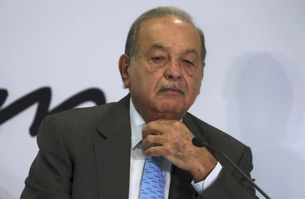 墨西哥首富史林確診新冠肺炎。美聯社