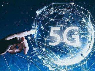 大陸今年再建60萬個5G基地台。(百度)