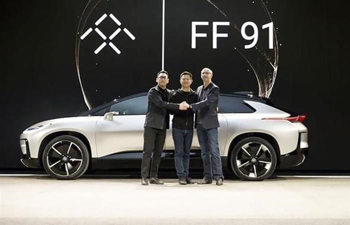 賈躍亭創辦的電動車公司FF(法拉第未來)傳最快兩周內啟動上市。圖翻攝自IT之家