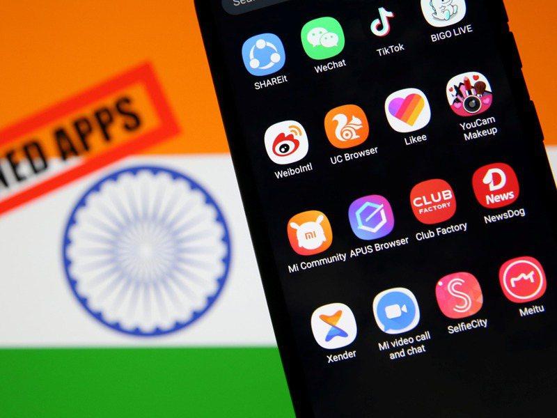 印度政府發布最新通知,6月起永久禁止59款中國手機應用程式,包括TikTok、百度、微信和阿里旗下的UC瀏覽器等。路透