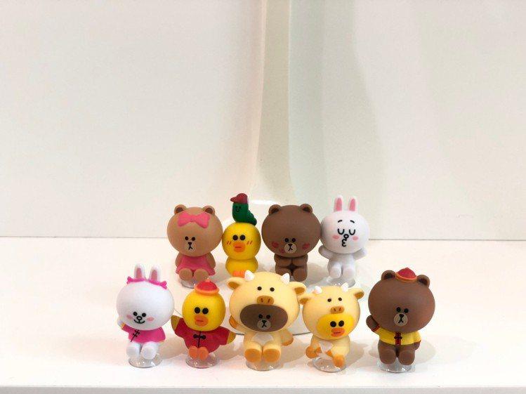 全家便利商店「LINE FRIENDS集點換購」活動將於1月27日登場,「熊大好...