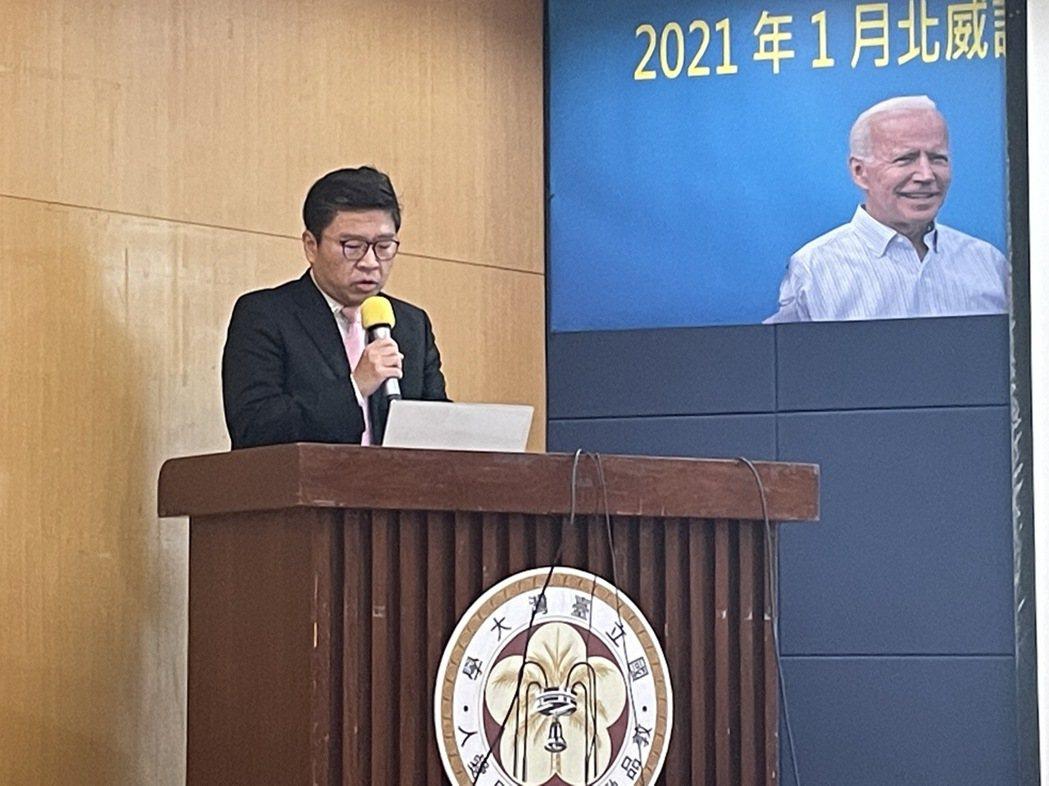 台新投顧總經理李鎮宇。記者陳芝瑄/攝影