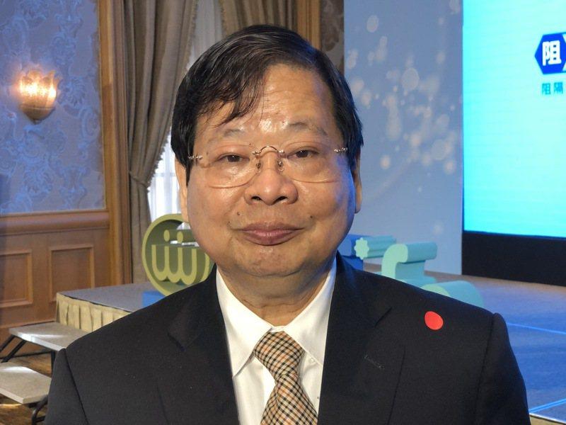 萬泰科董事長張銘烈。 記者蕭君暉/攝影