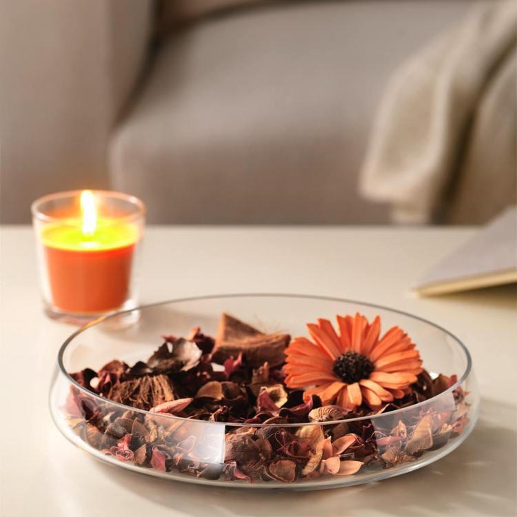 IKEA DOFTA香氛裝飾品 香味桃子、橘子/29元。圖/IKEA提供