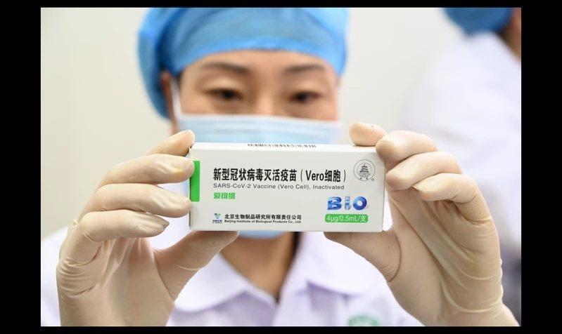 去年大陸首款國產新冠肺炎疫苗已獲准有條件上市。圖/中新社