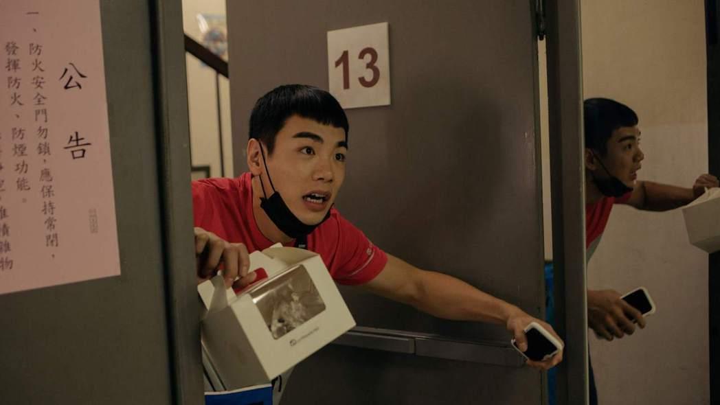 禾浩辰在「白日夢外送王」中是個使命必達的外送員。圖/公視提供