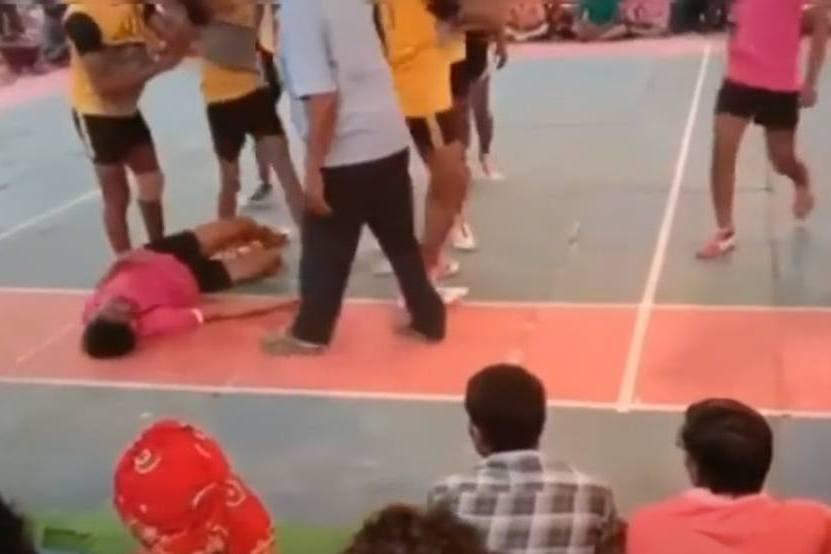 慎入!卡巴迪比賽恐怖斷頸意外 20歲選手遭撲倒後死亡