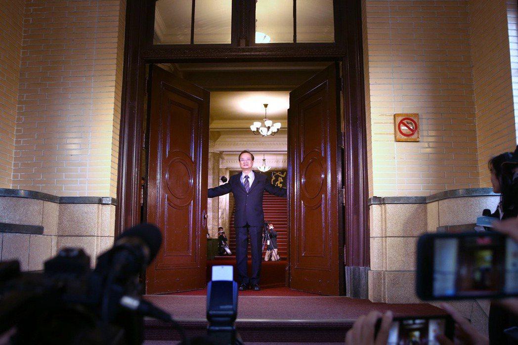 司法院長許宗力於1月20日表示,將嚴正調查「石木欽案」。攝於2020年11月,司法院首度開放民眾參觀。 圖/聯合報系資料照