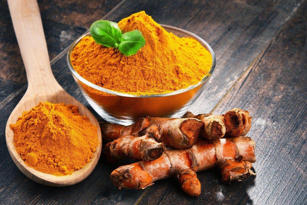 薑黃富含薑黃素,具有抗發炎效果。 圖/Shutterstock 提供