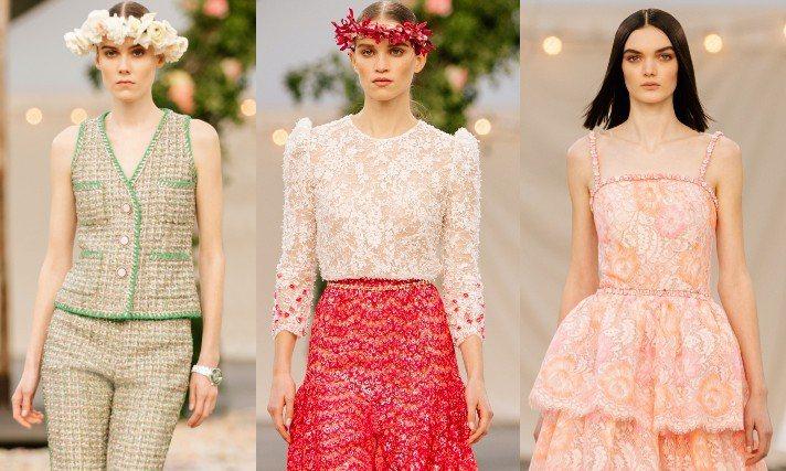 香奈兒於台灣時間26日晚上九點發表了2021春夏高級訂製服系列,在巴黎大皇宮打造...