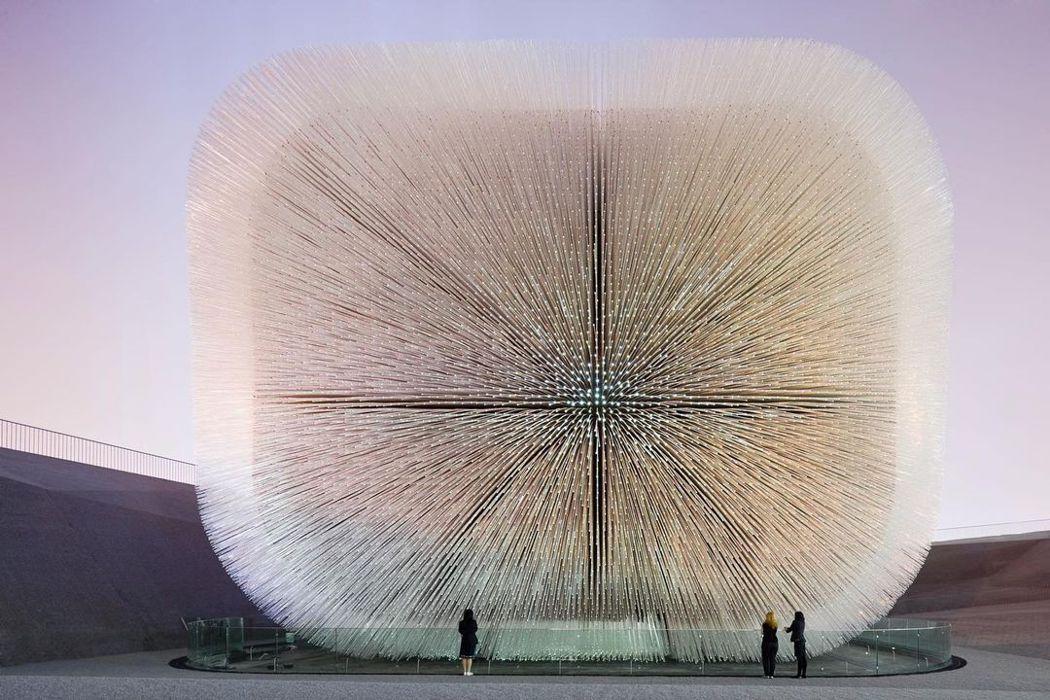 Thomas Heatherwick在上海世博,打造的英國館。圖/Heather...