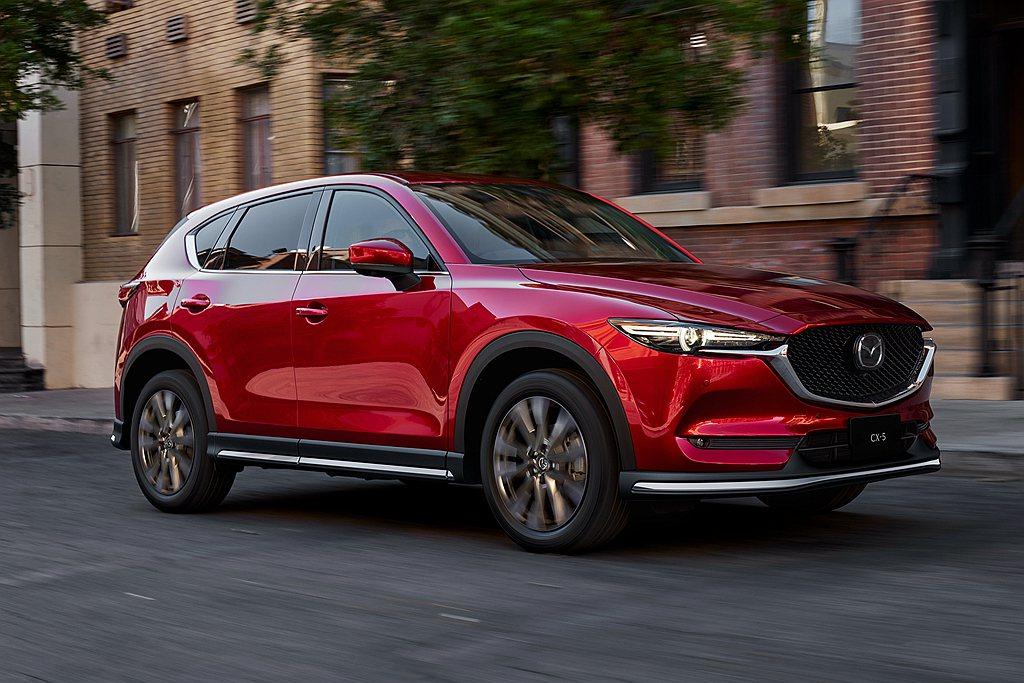 日規Mazda CX-5休旅銷售編成微調,當中渦輪柴油動力小幅度提升。 圖/Ma...