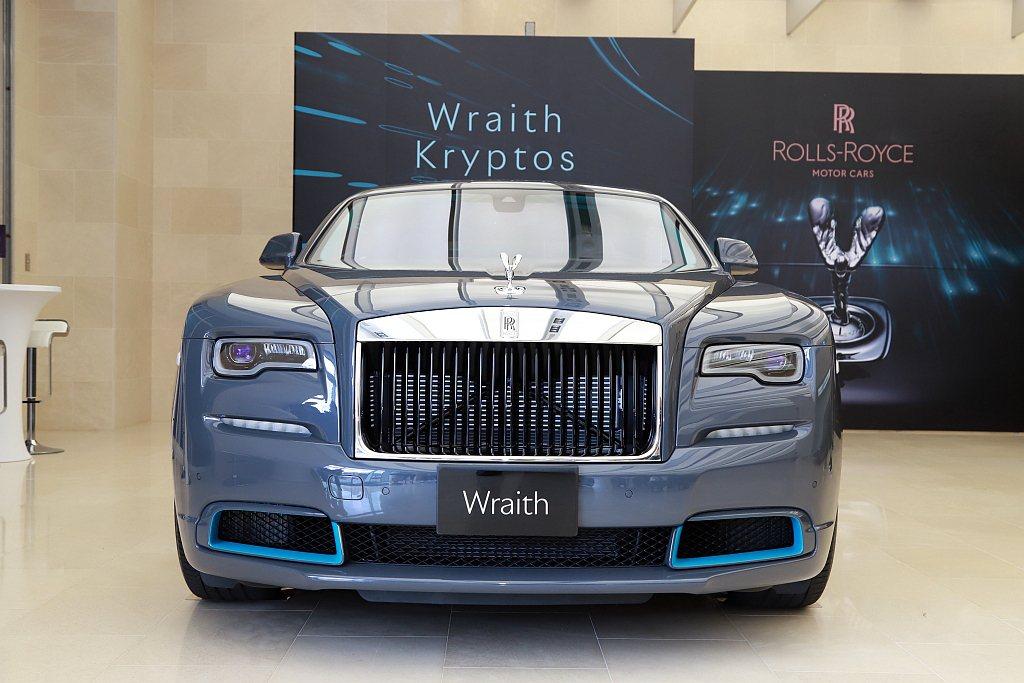 全球限量僅50台的勞斯萊斯Wraith Kryptos隱匿之鑰特別版車型彰顯出複...