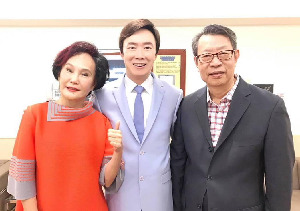 胡錦(左)和顧安生(右)鶼鰈情深超過40年。圖/摘自臉書