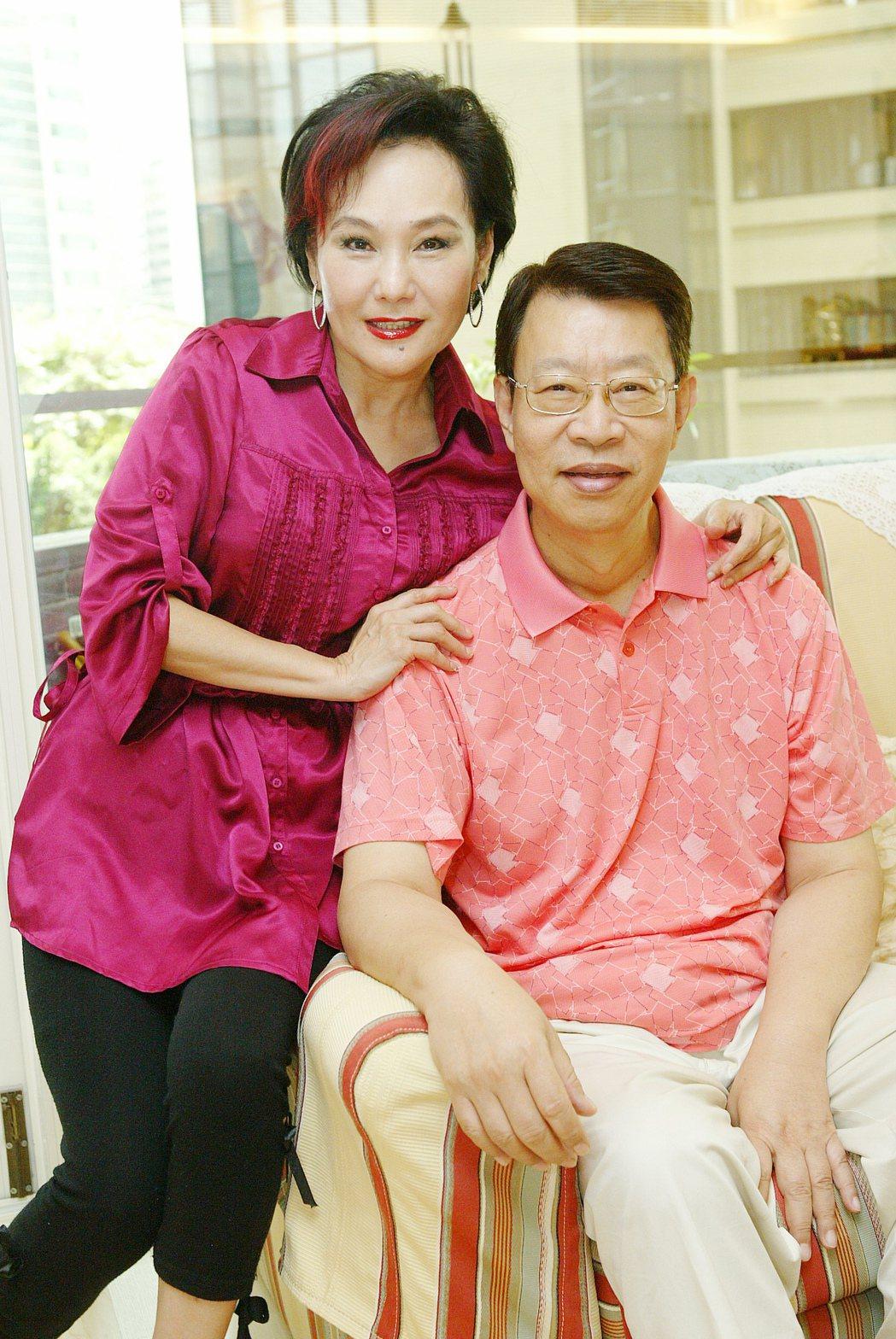 胡錦(左)、顧安生(右)夫婦專訪。記者陳俊吉/攝影