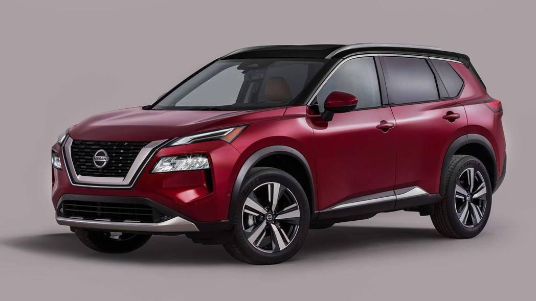 Nissan X-Trail/Rogue(北美版車型)。 圖/Nissan提供