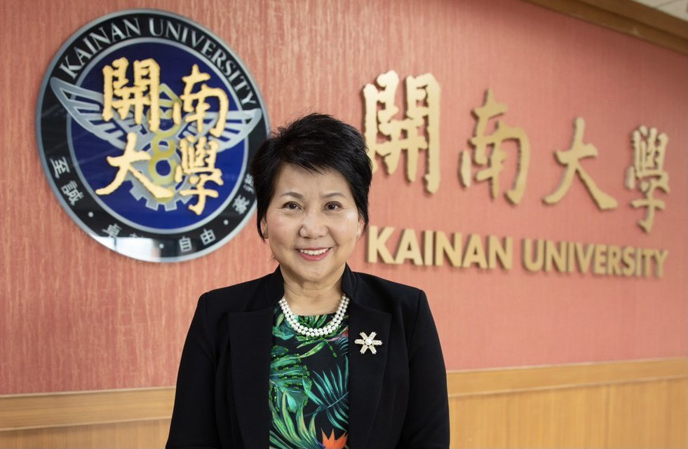 開南大學第十任校長林玥秀博士。 開南大學/提供。