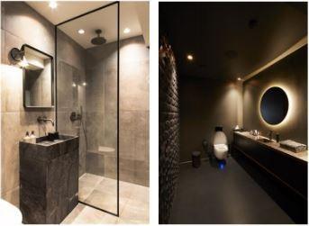 Audo(左)和Alchemist(右)的衛浴空間設計。 AXOR / Hans...