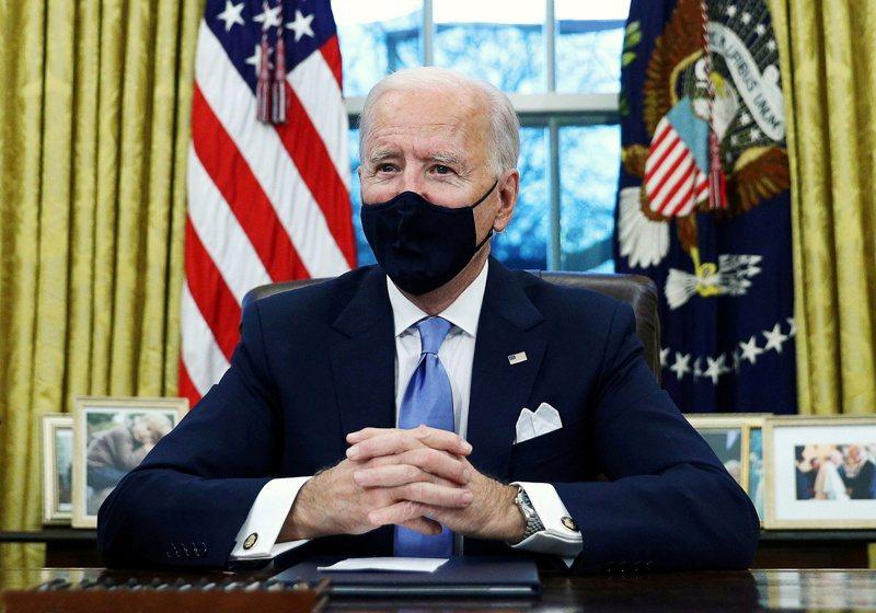 美國總統拜登。 路透社